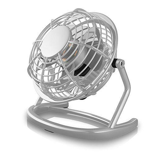 From 8.99 Csl - Desk-fan / Fan To Connect I.e. With The Pc | Desk Fan / Fan | For Pc / Notebook | Windows / Apple Compatible | Grey