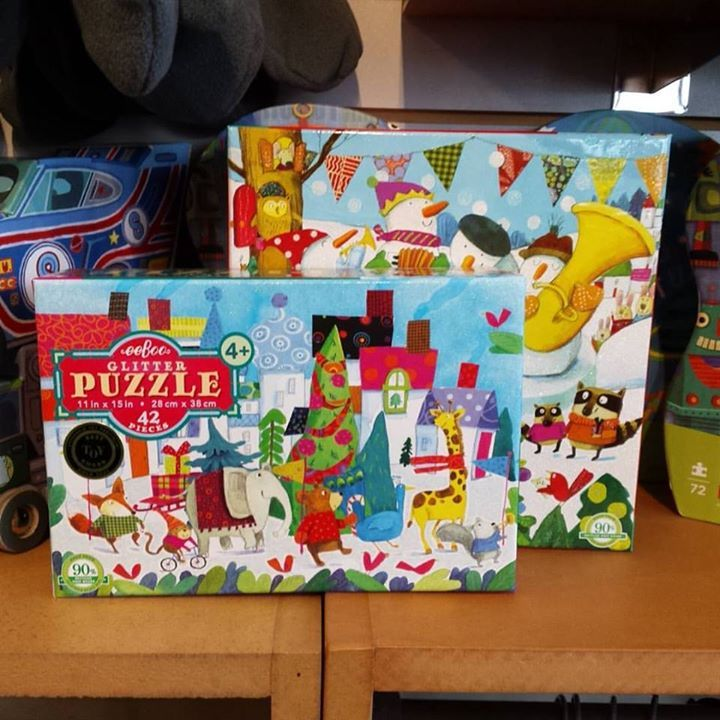 Getting into the holiday spirit with these puzzles from EeBoo