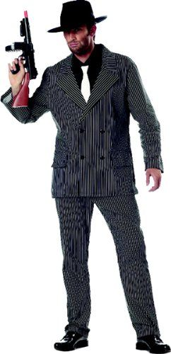 Mens Gangster Halloween Costumes