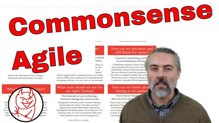 Commonsense Agile - an Agile Coach and Mentor Explains Agile Testing and Development https://youtu.be/PpSxNEJnMlU