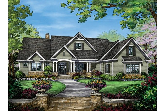 17 best images about lake house plans on pinterest Craftsman lake house