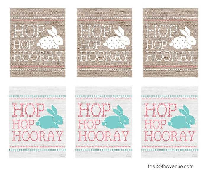 Adorable FREE Easter Printables The 36th Avenue .com #easter #printable   – Easter