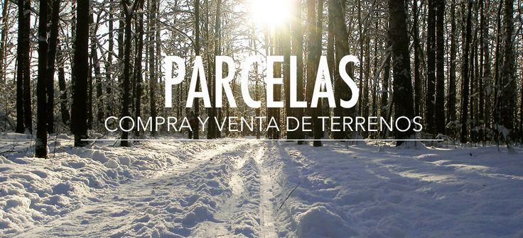 Portada web, parcelas Valle Las Trancas