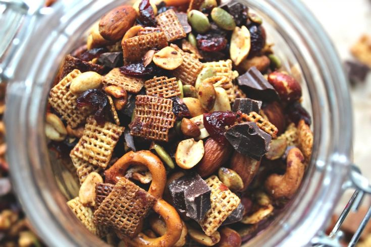 Cinnamon honey buttery ranch snack mix