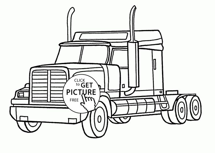 firetruck realistic coloring pages - photo#5