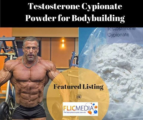 Featured Listing at #Flicmedia  Testosterone Cypionate Powder for Bodybuilding  Testosterone Cypionate, Testosterone Cypionate cycle, Testosterone Cypionate dosage, Testosterone Cypionate half-life, Testosterone Cypionate powder, Testosterone Cypionate Injection, Testosterone Cypionate 200mg Test Cypionate Profile: Test cypionate is a long-acting version of the parent hormone testosterone with an attached cypionate ester to delay its release into the body. Testosterone is the most potent…