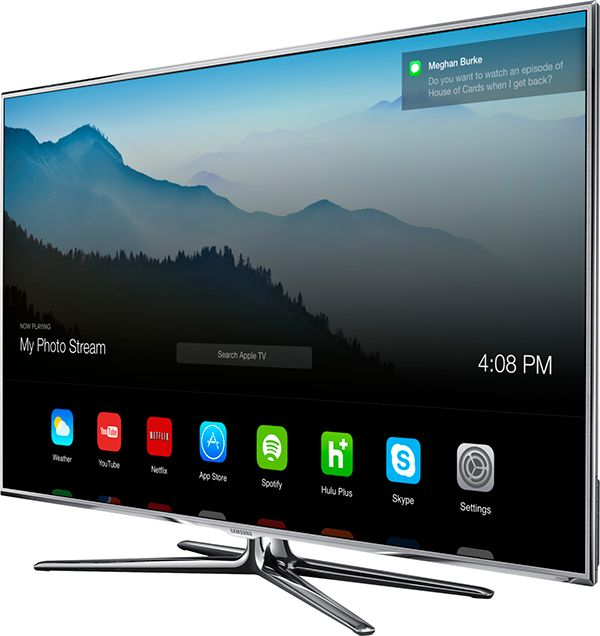 Apple TV UI Concept on Behance