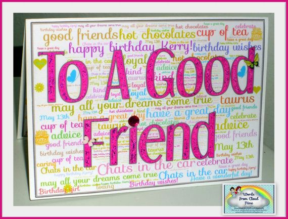 50 words friendship 50th birthday a good friend quotes - 1 making people happy, no it's nothing something i set out to do it's just what comes with being a good friend read more.
