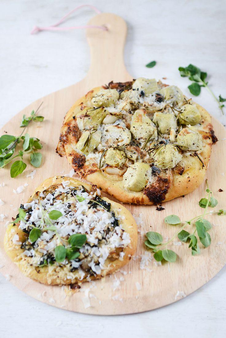 Vegetarische pizza's van Yvestown