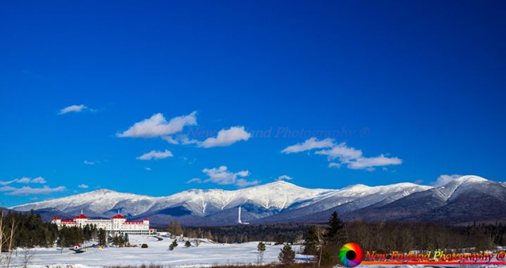Another one of my favorite places.  The Presidential Range and the Mount Washington Hotel in Bretton Woods New Hampshire