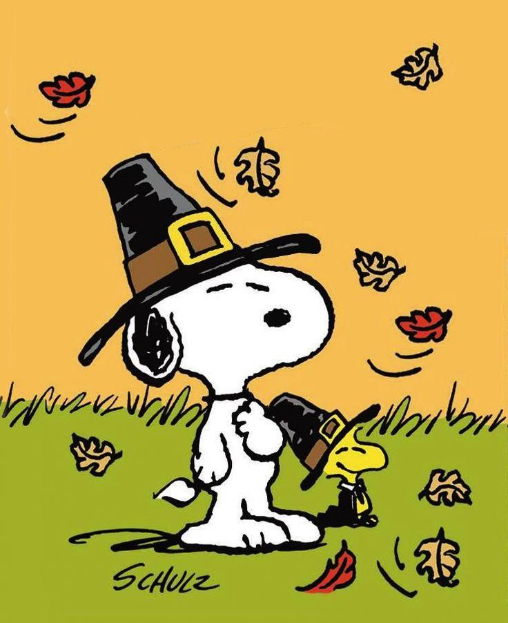 Peanuts #Snoopy Thanksgiving ♡ Beautiful #thanksgiving ...