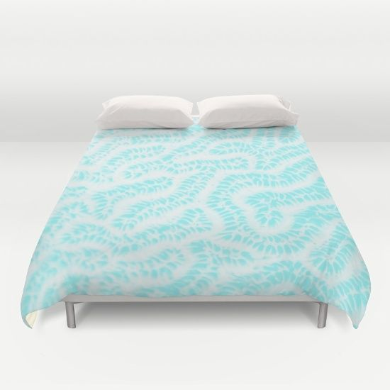 Buy ultra soft microfiber Duvet Covers featuring CoKiCu CORALATES by CoKiCu. Hand sewn and meticulously crafted, these lightweight Duvet Cover vividly feature your favorite designs with a soft white reverse side.