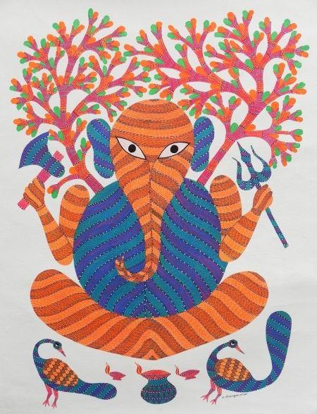Gond art of India