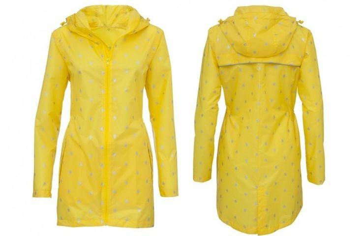 Limited edition: deze leuke gele regenjas met reflectoren gespot op:  http://www.zook.nl/leuke-regenkleding-online