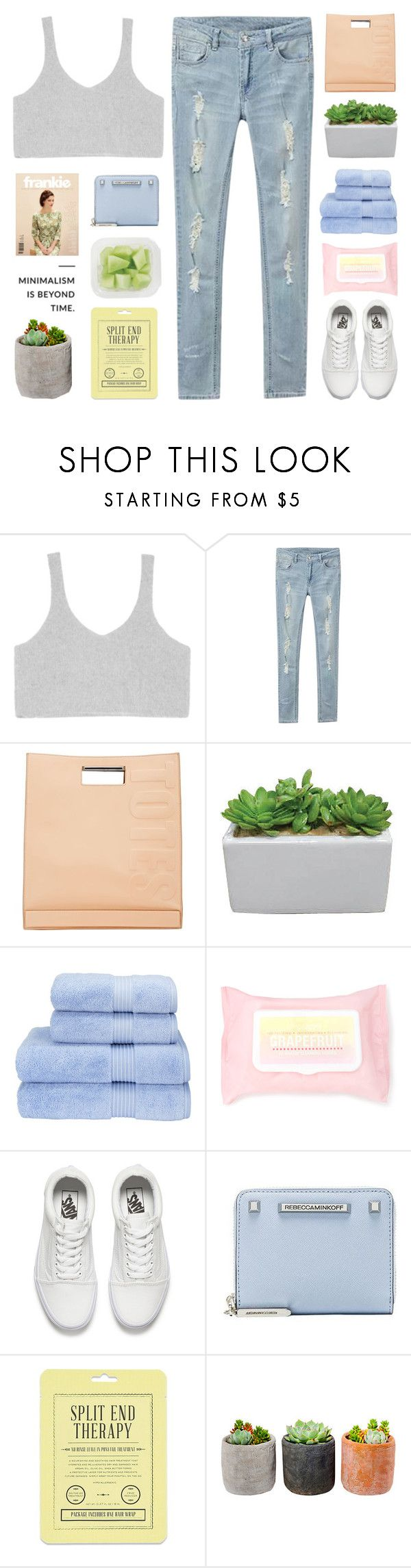"""that's when the beginning of the end begun"" by nsrogsy3 ❤ liked on Polyvore featuring 3.1 Phillip Lim, Christy, Forever 21, Vans, Rebecca Minkoff, Love 21 and Shop Succulents"