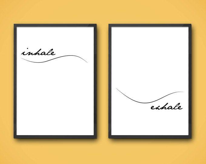 einatmen ausatmen einatmen ausatmen kunstdruck einatmen ausatmen druck einatmen ausatmen dekor einatmen ausatmen wandkunst - Ausatmen Fans