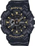 Casio Ladies Baby-G Tribal Design Watch BA-110TP-1A (BA110TP1A) - Watch Centre