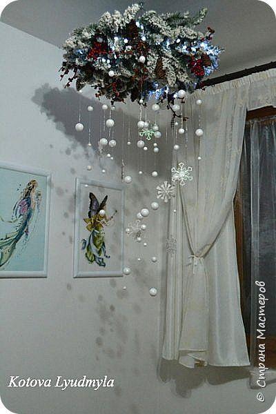 Поделка изделие Новый год Рождество Ассамбляж Шитьё Рождественские поделки много фоток Бисер Ленты Материал природный Сутаж тесьма шнур Ткань Фетр Шерсть фото 39