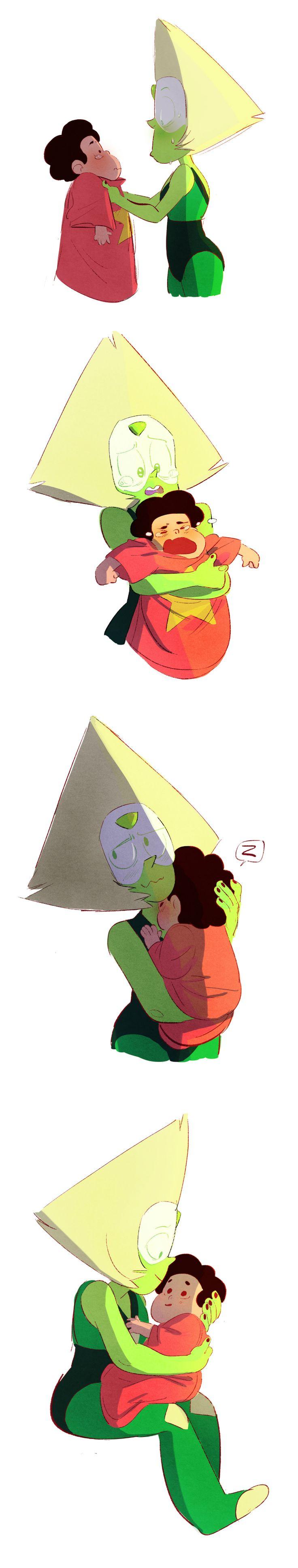 Taking Care of Baby Steven, Steven Universe, Peridot