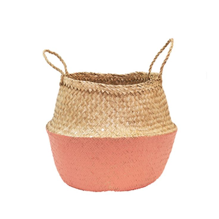 Coral Dipped Belly Basket-M
