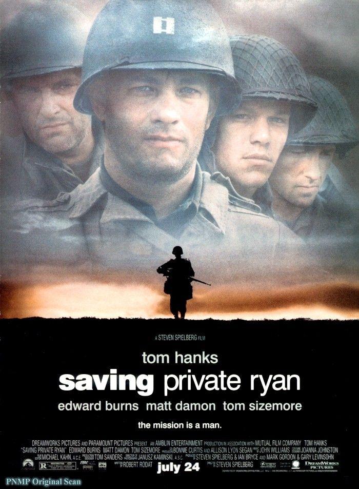 라이언 일병 구하기 영화 포스터