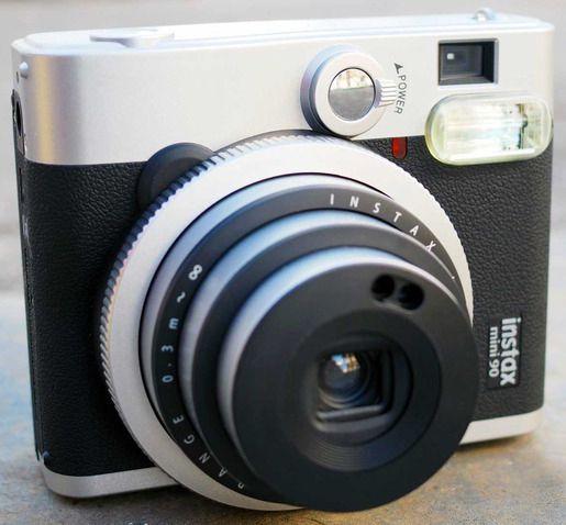 The Fujifilm Instax Mini 90.