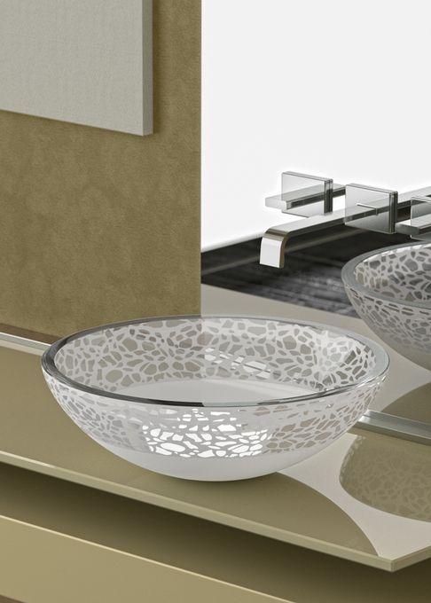 Beautiful White Round Sink