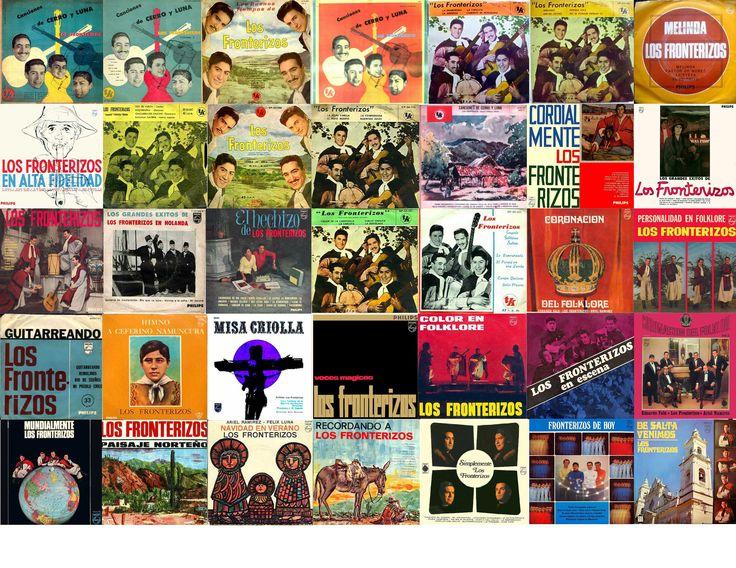 Los Fronterizos-Discografia 1ra.parte,46 discos