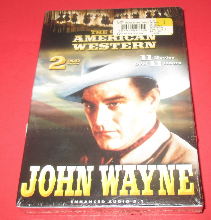 The Great American Western: John Wayne (DVD 2003, 2-Disc Set)11 Movies BRAND NEW #johnwayne #westerns #action #moviedvd #movies http://stores.ebay.com/vinylrockretro/