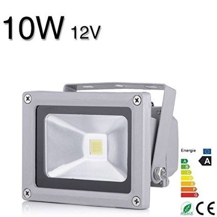 1 PC DC12V ip65 LED reflector Flood light 10W lamp luminaria projector LED Floodlight exterior spotlight outdoor light