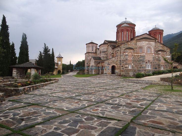 Ιερό Ησυχαστήριο Τιμίου Προδρόμου/Aκριτοχώρι- Σέρρες Holy Monastery of Saint John the Baptist/Akritochori- Serres