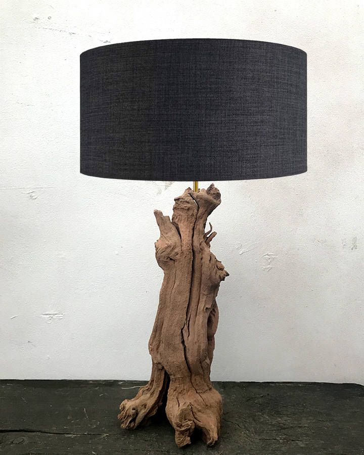 driftwood table lamps base lamp floor