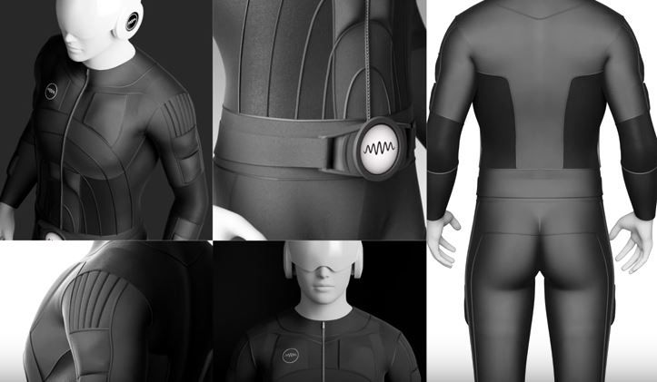 Invention Of The Week? Teslasuit Lets You Feel What You Play  ... see more at InventorSpot.com