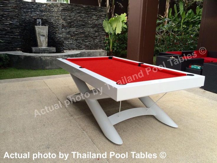 X Men Outpost Pool Table By Thailand Pool Tables #pooltables #billiards # Outdoor