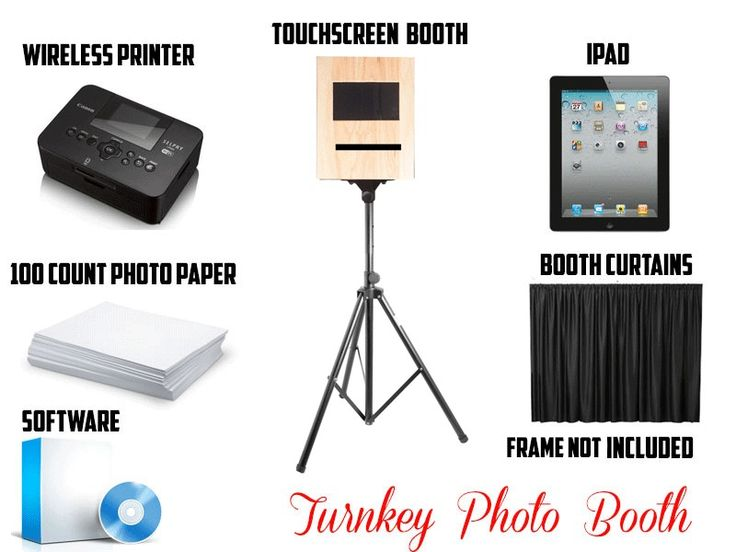 Portable Photo Booth For Sale - Touchscreen - Software Included -WINTER CLOSEOUT