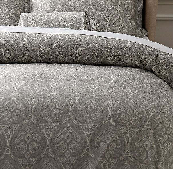 Restoration hardware italian cypress bedding in for Duvet covers restoration hardware
