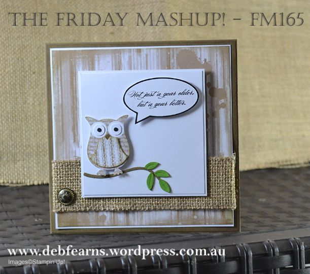 Hybrid MDS Stampin' Up - FM165 - by Deb Fearns