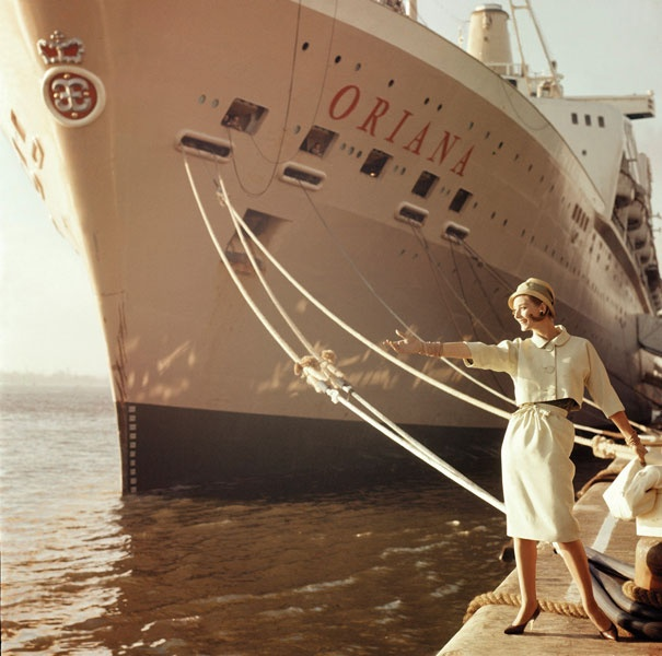 In the 1960's P Cruises launched 2 new ships; Oriana and Canberra
