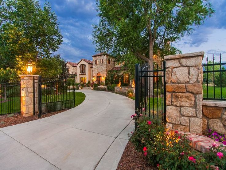 Extraordinary Property of the Day 4/2/2014: Newly Constructed Tuscan Villa on 2.5 Acres in Cherry Hills Village, CO www.fullersothebysrealty.com/eng/sales/detail/218-l-811-82x5cv/1400-east-oxford-lane-cherry-hills-village-co-80113