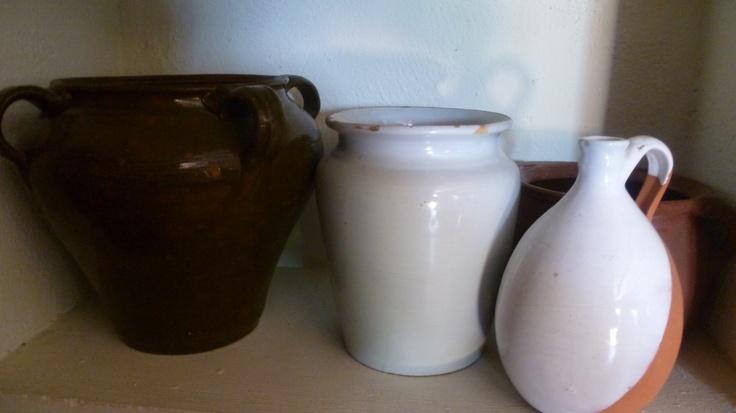 Vasijas de barro antiguas