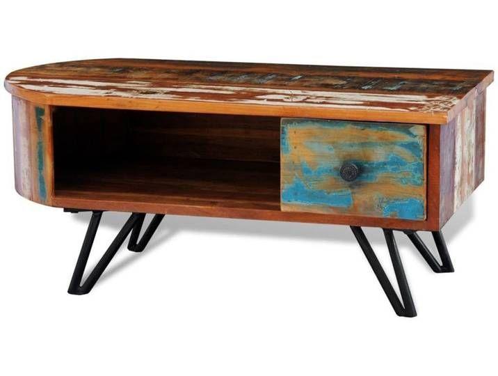 Dieser Couchtisch Im Antiken Stil Ist Ein Zeitloses Wohnaccessoire F R Ihr Zuhause Seine Massivholzp In 2020 Coffee Table Wood Coffee Table Cocktail Tables Living Room