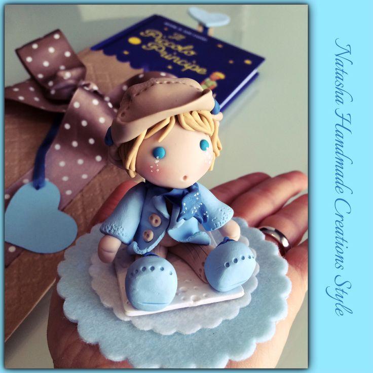 Il Piccolo Principe, mi ha ispirato questo Cake Topper...adesso anche lui deve trovare la sua rosa