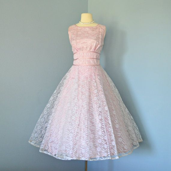 75 best 1950\'s Wedding images on Pinterest | Vintage dresses, 50s ...
