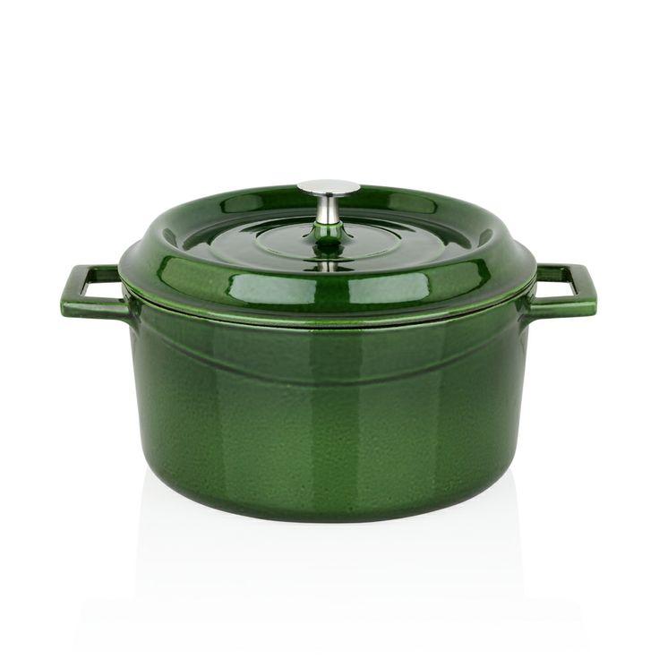 Bernardo Döküm Tencere / Cooking Pot #bernardo #kitchen #mutfak #cooking #yemek #yesil #green