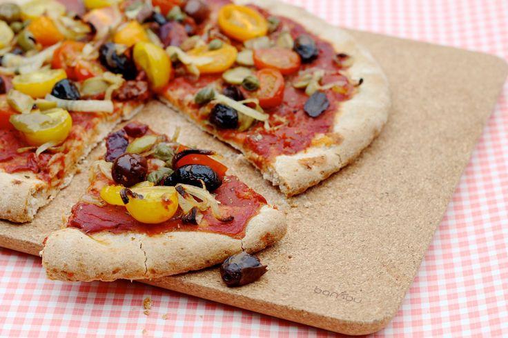 Vegan Pizza by De Groene Meisjes