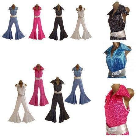 ON SALE!!! - £19.99 - Fancy Dress 70s 80s Retro Jumpsuit  Buy here: https://sowestfancydress.com/products/ladies-fancy-dress/70s-80s-fancy-dress-jumpsuit-for-retro-disco-hen-nights-2/