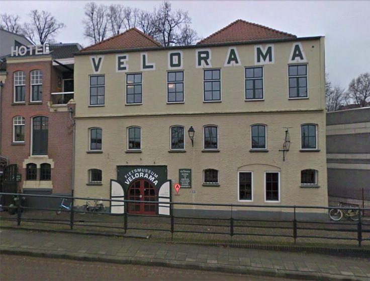 Velorama, Waalkade Nijmegen. Het enige fietsmuseum in Nederland