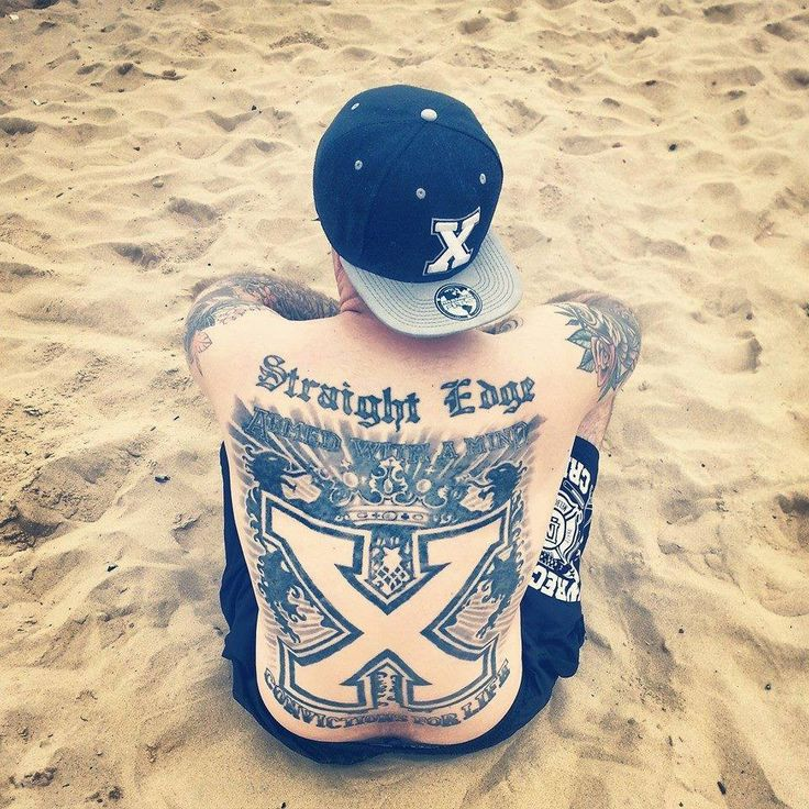 Straight Edge Tattoos: 17 Best Images About Straight Edge: Iconography On