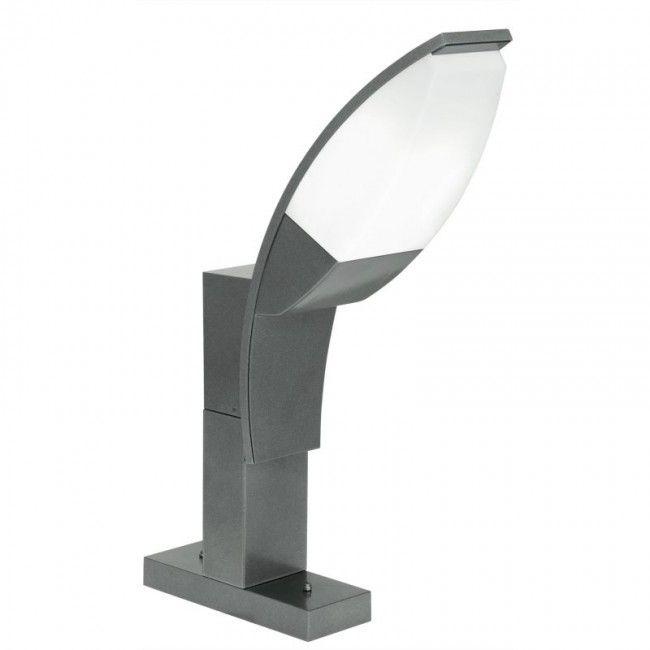 EGLO PANAMA 1 LED Außen Sockelleuchte, 1x GX53, IP44, anthrazit, 93521