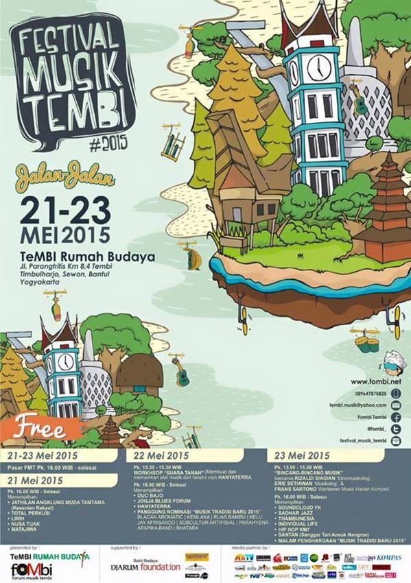 Jalan-jalan ke Festival Musik Tembi 2015